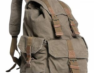 Bluboon Vintage Canvas Backpack