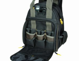 CLC Custom LeatherCraft 53-pocket Lighted Backpack