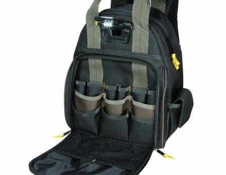 CLC Custom LeatherCraft 53-pocket Lighted Backpack