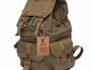 Kattee Canvas DSLR Camera Backpack