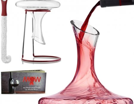 Mixologist World Wine Decanter-Carafe Set