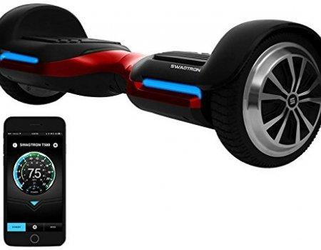 Swagtron App-Enabled Bluetooth Speaker Hoverboard