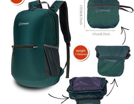 Zomake lightweight hiking backpack