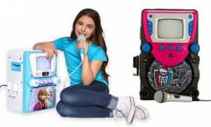 kids karaoke machine